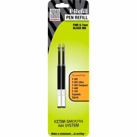 Zebra Refill for G-301 Ultra, F-402 and F-701 Pens - Black Ink  - 2 Pack
