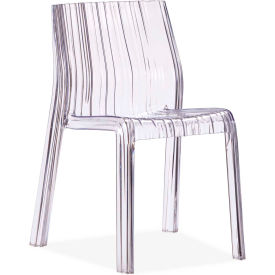Ruffle Chair Transparent