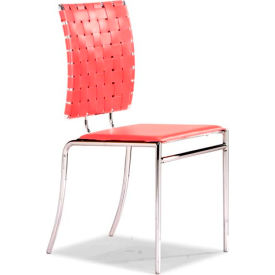 Criss Cross Chair, Red