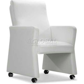 Burl Arm Chair White
