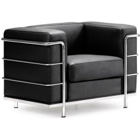 Fortress Armchair, Black