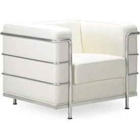 Fortress Armchair, White
