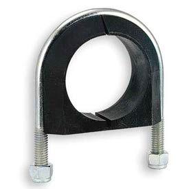 "1-1/2"" Pipe S/S U-Bolt Cushion Pipe Clamp"