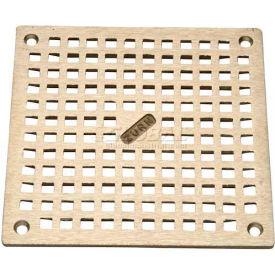 "Zurn 6"" x 6"" Square Floor Drain W/Screws, Nickel"
