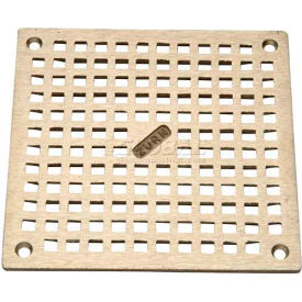"Zurn 8"" x 8"" Square Floor Drain W/Screws, Nickel"