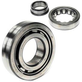 NU318C3 - Single Row Cylindrical Roller Bearing, Steel Cage, C3 IRC
