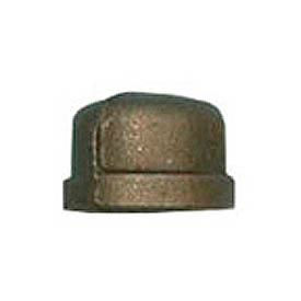 BMI Canada MBCAP05 Cap 150# Black Malleable - 1/2 In.