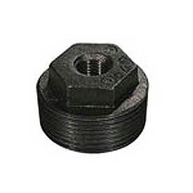Hex Bushing Black Malleable