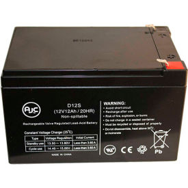 AJC® Brand Replacement UPS Batteries for APC 12 Amps