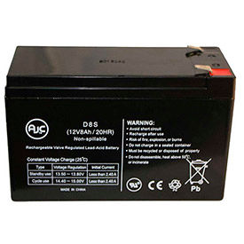 AJC® Parasystems 8 Amps Brand Replacement UPS Batteries
