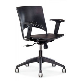 Allseating Plastic Seat & Back Chairs
