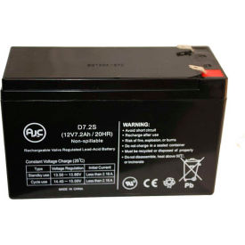 AJC® Brand Replacement UPS Batteries For Para Systems Minuteman 7 to 7.5 Amps
