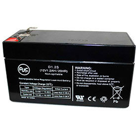 AJC® Brand Replacement Medical Batteries 12 Volts 1.2 to 1.3 Amps