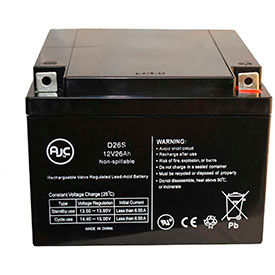 AJC® Brand Replacement Medical Batteries 12 Volts 33 to 35 Amps