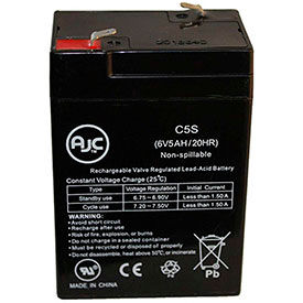 AJC® Brand Replacement Lead Acid Batteries For Carpenter Watchman