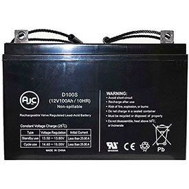 AJC® Brand Replacement Lead Acid Batteries For Deka