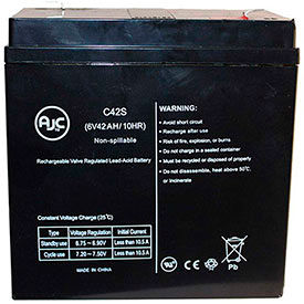 AJC® Brand Replacement Lead Acid Batteries For Lightalarms