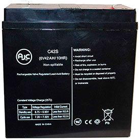 AJC® Lightalarms Brand Replacement Lead Acid Batteries