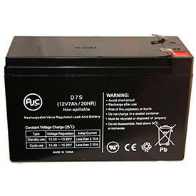 AJC® Brand Replacement Home Alarm Batteries 12V 7- 7.5 Amps