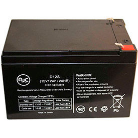 AJC® 12V 12 Amps Brand Replacement Home Alarm Batteries