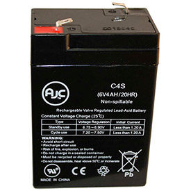 AJC® Panasonic Brand Replacement Security System Batteries