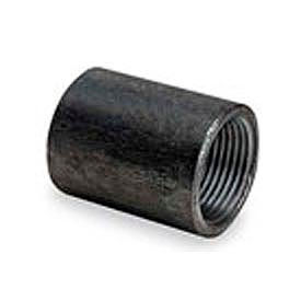 BMI Canada 11102030 Non-Recessed Taper Tapped Coupling 150# Black Steel - 3 In.