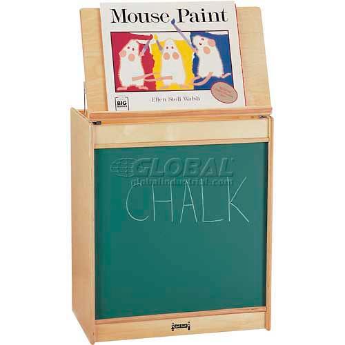 Jonti-Craft ThriftyKYDZ Big Book Easel Chalkboard by
