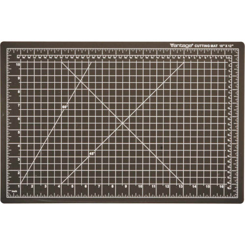 "Dahle Vantage Self-Healing Cutting Mat 12"" x 18"" Black by"