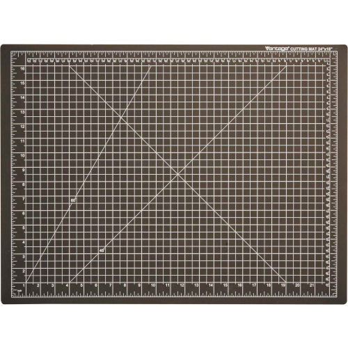 "Dahle Vantage Self-Healing Cutting Mat 18"" x 24"" Black by"
