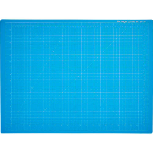 "Dahle Vantage Self-Healing Cutting Mat 18"" x 24"" Blue by"