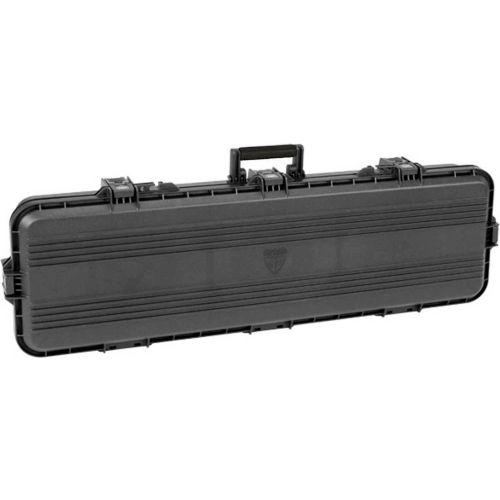 "Plano All Weather Storage Rifle Case w/Foam & O-Ring Seal Box, 46""L x 5-1/2""W x 16""H, Black by"