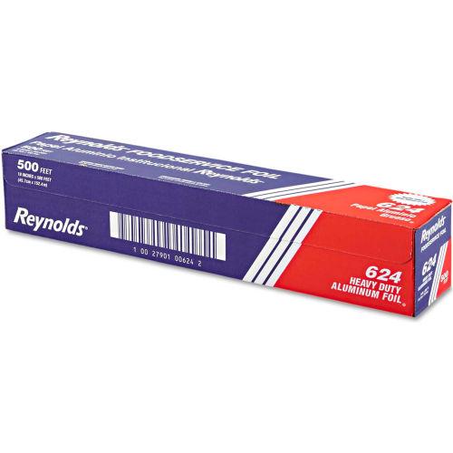 """Reynolds Wrap Heavy Duty Aluminum Foil Roll, 18"""" x 500 Ft., Silver by"""