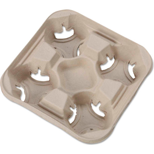 Huhtamaki HUH FLIGHT Disposable Cup Holder Tray, 8 to 32 Oz. Cups, 300 Qty. by