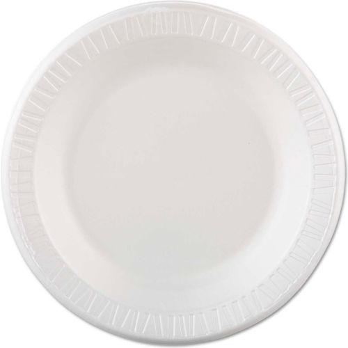 "Dart Foam Plastic Plates, 10 1/4"", White, Round by"
