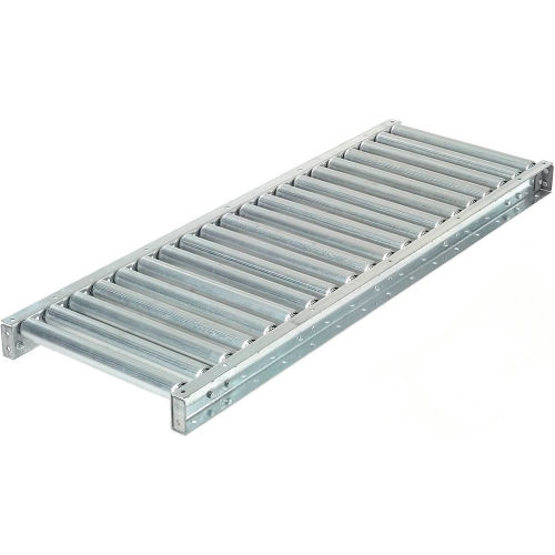 Gravity Roller Conveyor 13BF 16 OAW 5 Length Medium Duty 1.9 Rollers on 3 Centers