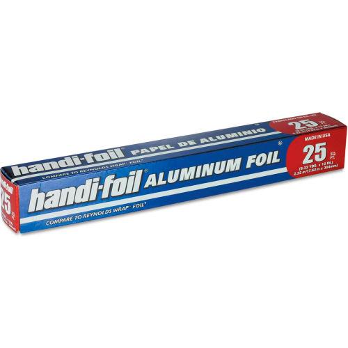 "Handi-Foil Aluminum Foil Roll, 12"" x 25 ft by"