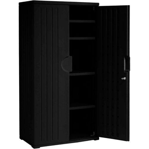 Plastic Storage Cabinet 36x22x72