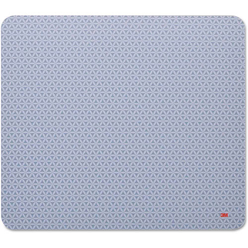 3M MP114BSD1 Precise Mouse Pad, Battery Saving Design, Gray/Bitmap by