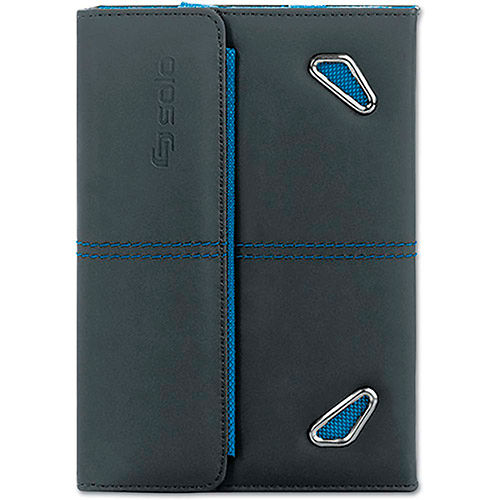 Buy SOLO Active Tablet Case for Kindle Fire/Nexus 7, Black/Blue