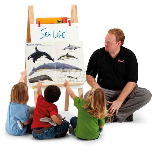 Jonti-Craft Teachers' Easel Standard Chalkboard by
