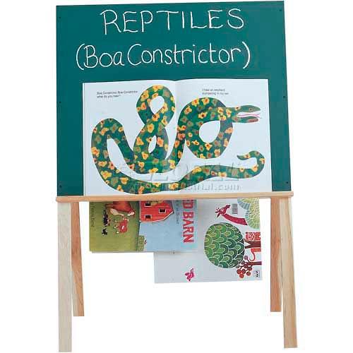 Jonti-Craft Teachers' Easel Wide Chalkboard by