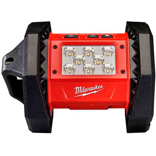 Milwaukee 2361-20 M18 Portable 18V Led Flood Light 1100 Lumens by