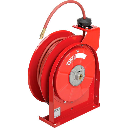 Reelcraft 5450 OLP Premium Duty Spring Retractable Hose Reel Air//Water Hose Included 300 Psi 1//4 x 50
