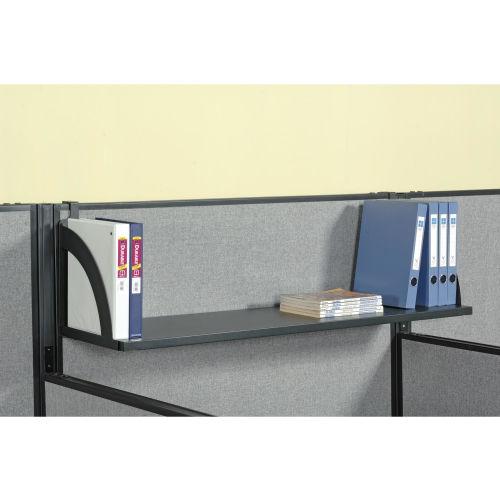 "Hanging Shelf For 36""W Panel Black"