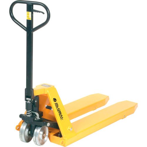 High-Capacity Pallet Jack Truck 11,000 Lb. Capacity 23 x 45-1/2 Forks by