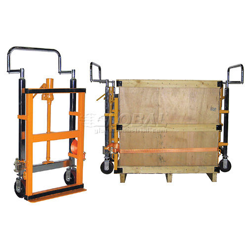 Hand Operated Hydraulic Furniture & Equipment Moving Dolly (Pair) 3950 Lb. Capacity by