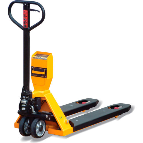 NTEP Approved Legal for Trade Pallet Jack Scale Truck 5000 Lb. Capacity by