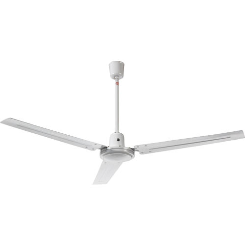 Fans | Ceiling U0026 Beam Fans | Industrial Ceiling Fan 56 Inch White With  Controller | 246496   GlobalIndustrial.com