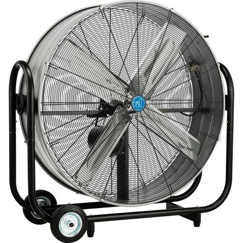 42 Inch Portable Tilt Drum Blower Fan Belt Drive by