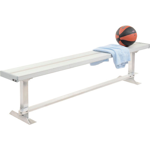 Aluminum Team Bench 6'L by